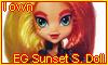 EG Sunset Shimmer Doll by NatouMJSonic
