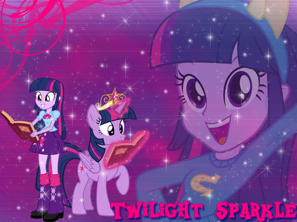 Wallpaper Twilight Sparkle Equestria Girls By Natoumjsonic On