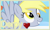 Commission: Derpy Stamp by NatouMJSonic