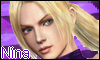 Nina Williams Stamp by NatouMJSonic