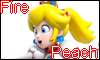 Fire Peach Stamp by NatouMJSonic