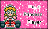 Super Mario Kart: I'm a Princess Player stamp by NatouMJSonic