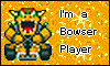 Super Mario Kart I'm a Bowser player stamp by NatouMJSonic