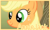 AppleJack Stamp by NatouMJSonic
