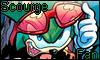 Scourge fan stamp by NatouMJSonic