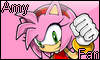 Amy Fan Stamp by NatouMJSonic