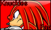 Knuckles Fan Stamp by NatouMJSonic