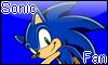 Sonic Fan Stamp