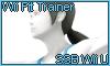 Wii Fit Trainer SSB Wii U Stamp by NatouMJSonic