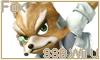 Fox SSB Wii U Stamp by NatouMJSonic
