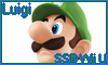 Luigi SSB Wii U Stamp by NatouMJSonic