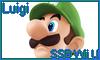Luigi SSB Wii U Stamp by NatouMJSonic