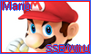 Mario SSB Wii U Stamp by NatouMJSonic
