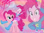 Equestria Girls Pinkie Pie Wallpaper