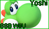 Yoshi Super Smash Bros Wii U Stamp by NatouMJSonic