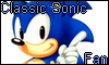 Classic Sonic fan Stamp by NatouMJSonic