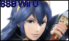 Lucina Super Smash Bros Wii U Stamp by NatouMJSonic