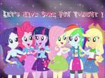 Equestria Girls Rainbow Rocks Wallpaper