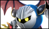 Metaknight Super Smash Bros. Wii U Stamp by NatouMJSonic