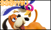 Duck Hunt Duo SSBWiiU Stamp by NatouMJSonic