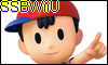 Ness SSBWiiU Stamp by NatouMJSonic