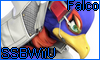Falco SSBWiiU Stamp by NatouMJSonic
