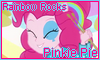 Rainbow Rocks Pinkie Pie Stamp by NatouMJSonic