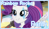 Rainbow Rocks Rarity Stamp by NatouMJSonic