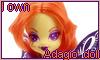 I own Adagio Dazzle Doll stamp by NatouMJSonic