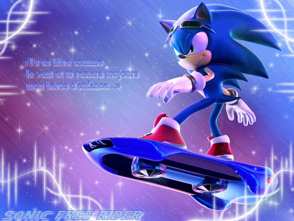 Download Sonic Free Riders Wallpaper Gallery