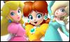 3 Princesses stamp by NatouMJSonic