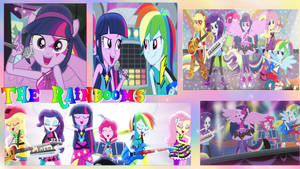 The Rainbooms Wallpaper by NatouMJSonic