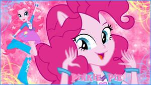 Equestria Girls Pinkie Pie Wallaper by NatouMJSonic