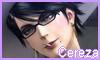 Cereza (Bayonetta) Stamp by NatouMJSonic
