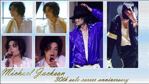 Michael Jackson 30th anniversary wallpaper by NatouMJSonic