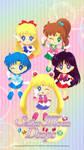 Sailor Senshi Sailor Moon Drops Wallpaper