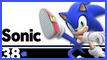 SSBU 38 Sonic Stamp by NatouMJSonic