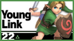 SSBU 22 Young Link Stamp by NatouMJSonic
