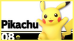 SSBU 08 Pikachu Stamp by NatouMJSonic