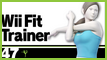 SSBU 47 Wii Fit Trainer Stamp by NatouMJSonic