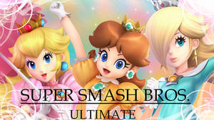 Super Smash Bros Ultimate 3 Princesses by NatouMJSonic