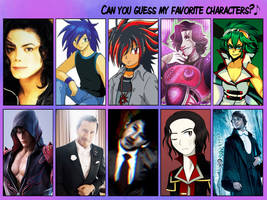 My favorite male characters meme 2018 by NatouMJSonic