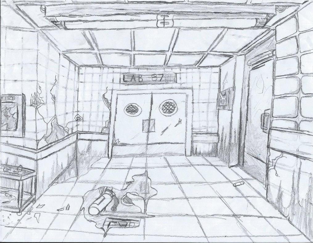 Creepy Lab By Goastantie