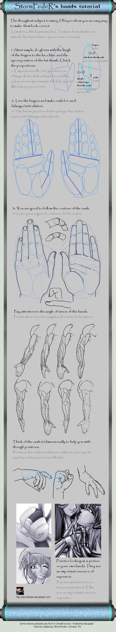 Hands Tutorial by FdR by StormFedeR