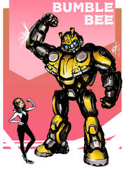 Bumblebee and Spider-Hailee