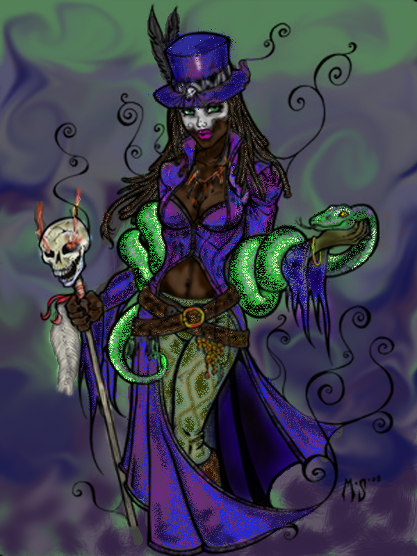 Voodoo Queen by TracyWong on DeviantArt |Voodoo Queen Art