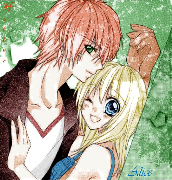 AlicexHatter: Manga Style by Yukika-Chan