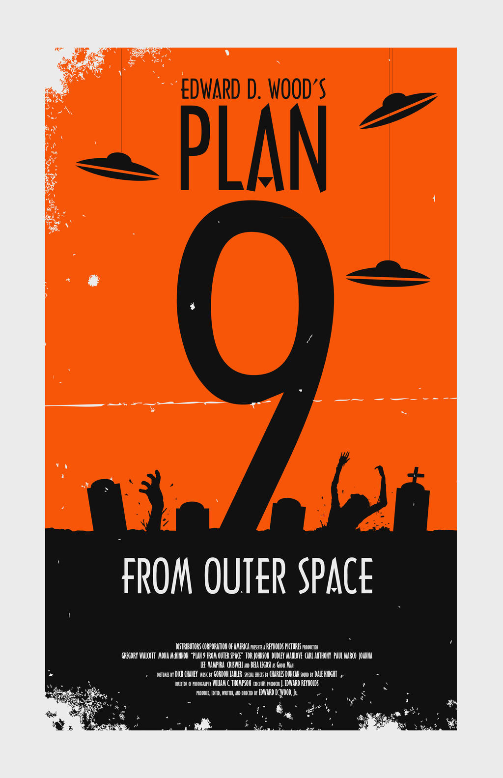 Bad bad movies plan 9 from outer space by thesoapboxer for Outer space planning and design group