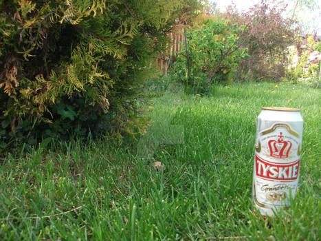 Tyskie w trawie piszczy