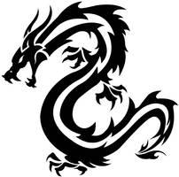 Tribal Dragon by XtremeYamazaki
